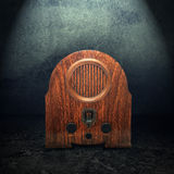 Old vintage radio Stock Images
