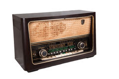 Old vintage radio Royalty Free Stock Photos
