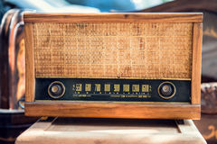 Old vintage radio Royalty Free Stock Photography