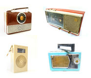 Old Vintage Radios Stock Images