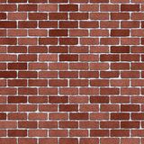 Old vintage red brick wall Royalty Free Stock Images