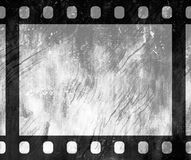 Old vintage retro 35 mm grunge film frame Royalty Free Stock Photo