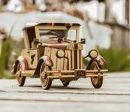 Old vintage retro style handmade car model Stock Photo