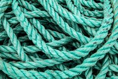 Old and vintage rope Royalty Free Stock Images