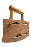 Old vintage Russian Soviet rusty iron Royalty Free Stock Image