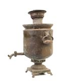 Old vintage samovar. Royalty Free Stock Photo