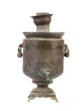 Old vintage samovar. Stock Photography