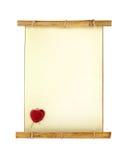 Old vintage scroll letter Stock Images