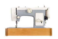 Old vintage sewing machine Stock Images