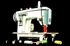Old Vintage Sewing Machine Royalty Free Stock Image