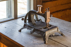 Old vintage sewing machine Stock Photo