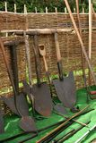 Old Vintage Shovels Stock Images