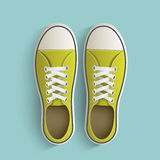 Old vintage sneakers. Royalty Free Stock Photos