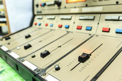 Old/vintage sound controller Stock Images