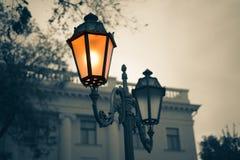 Old Vintage street light. Stock Photos