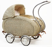 Old vintage stroller Royalty Free Stock Photo