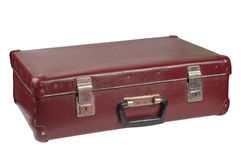 Old vintage suitcase Stock Photos
