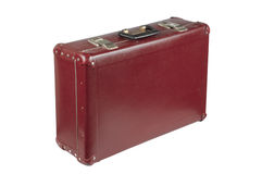 Old vintage suitcase Stock Images