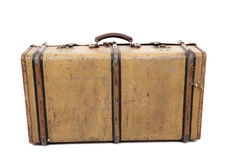 Old vintage suitcase Stock Image