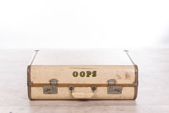 Old vintage suitcase Royalty Free Stock Photos