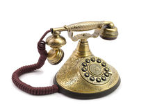 Old vintage telephone Stock Photos