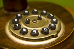 Old Vintage Telephone Stock Image