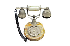 Old vintage telephone isolated Royalty Free Stock Image