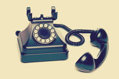 Old Vintage Telephone stock images