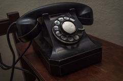 Old Vintage Telephone Stock Photography