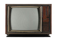 Old Vintage Television royalty free stock photos