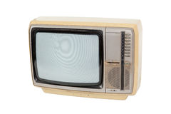 Old vintage television Royalty Free Stock Photo
