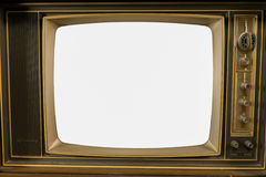 Old Vintage Televisions Stock Photo