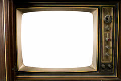 Old Vintage Televisions Royalty Free Stock Photography
