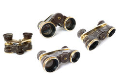 Old vintage theatre binoculars Stock Image