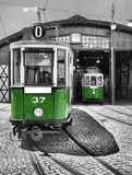 Old and vintage tram Royalty Free Stock Photography
