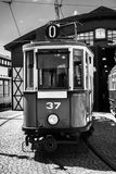 Old and vintage tram Royalty Free Stock Images