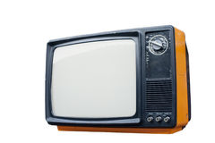 Old vintage TV Royalty Free Stock Photo