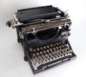 Old vintage typewriter. Old fashioned, vintage typewriter playwriting publish retro stock image