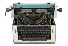 Old vintage typewriter Royalty Free Stock Images