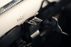 Old Vintage Typewriter Royalty Free Stock Image