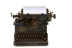 Old vintage typewriter Stock Photo
