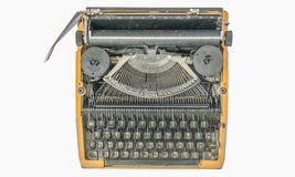Old vintage typewriter isolated Stock Images