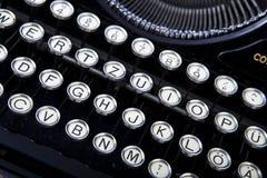 Old vintage typewriter Royalty Free Stock Image
