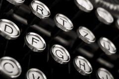 Old vintage typewriter Stock Photography