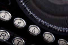Old vintage typewriter Royalty Free Stock Photos