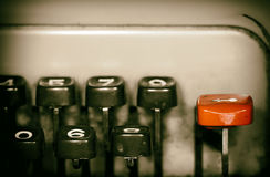 Old Vintage Typewriter Stock Images