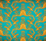 Old vintage victorian wallpaper Royalty Free Stock Photos