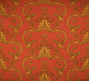Old vintage victorian wallpaper Stock Photography
