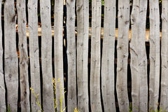 Old vintage village wooden fence Royalty Free Stock Photos