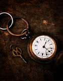 Old vintage watch Royalty Free Stock Photography